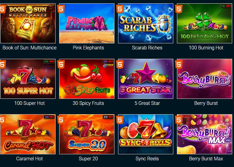 Азартные игры от Goxbet.